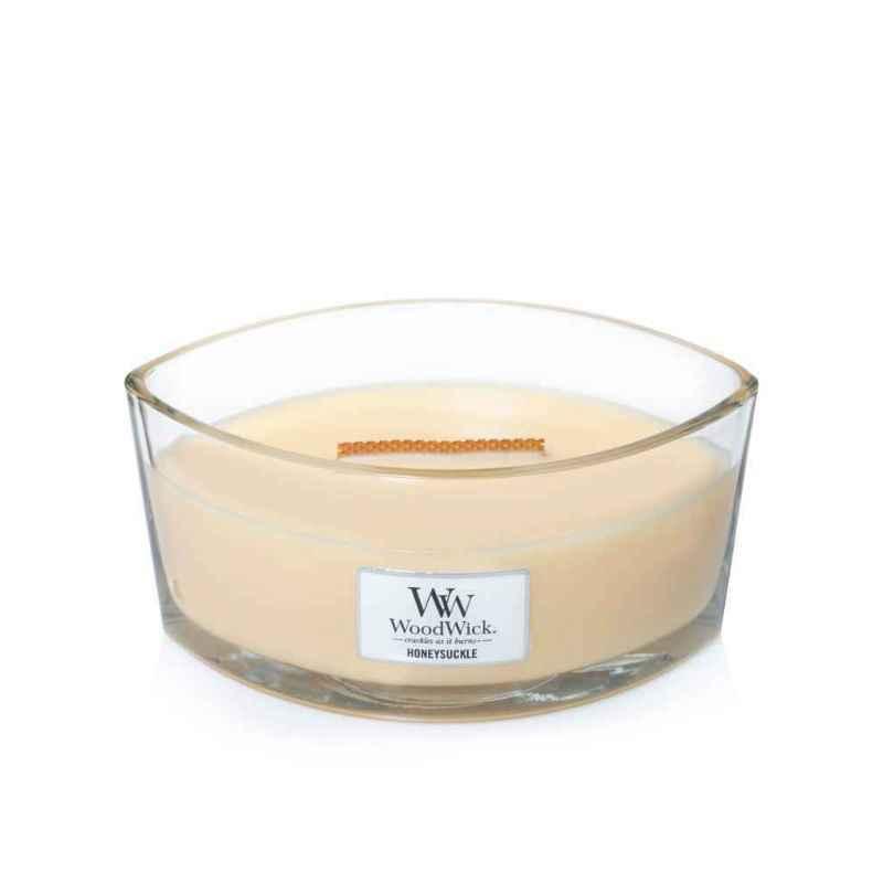 WoodWick Honeysuckle - świeca zapachowa Elipsa - candlelove
