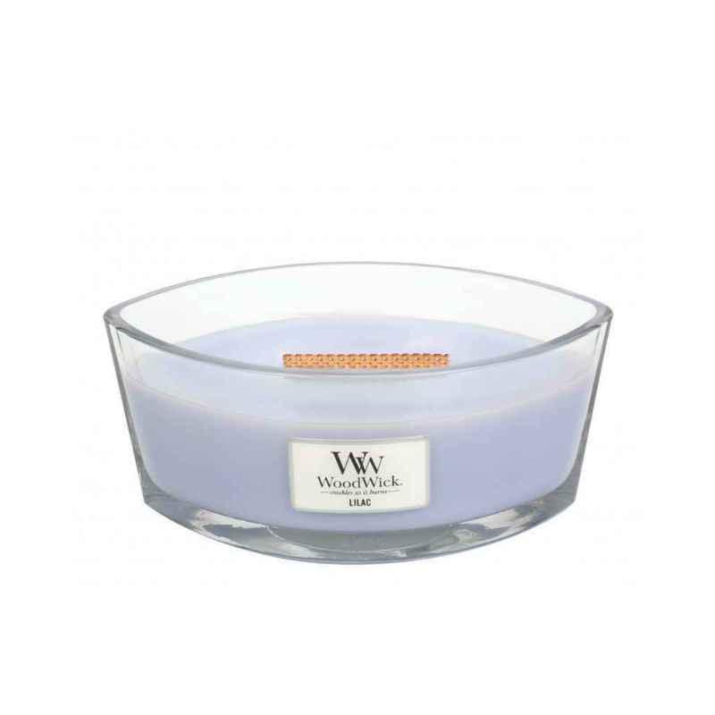 WoodWick Lilac - świeca zapachowa Elipsa - candlelove