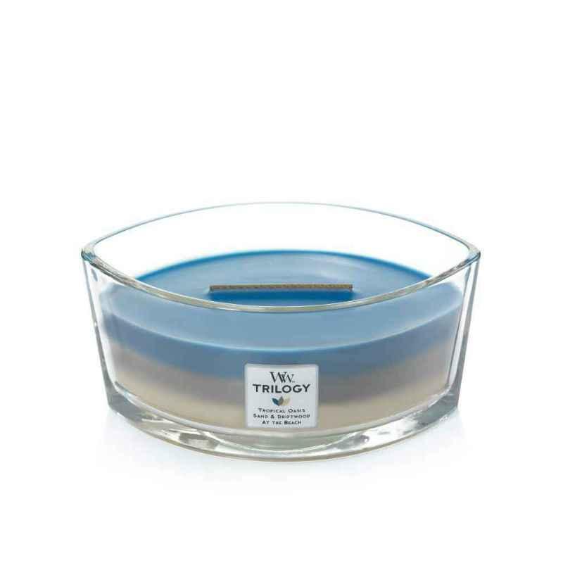 WoodWick Nautical Escape - świeca zapachowa Elipsa - candlelove