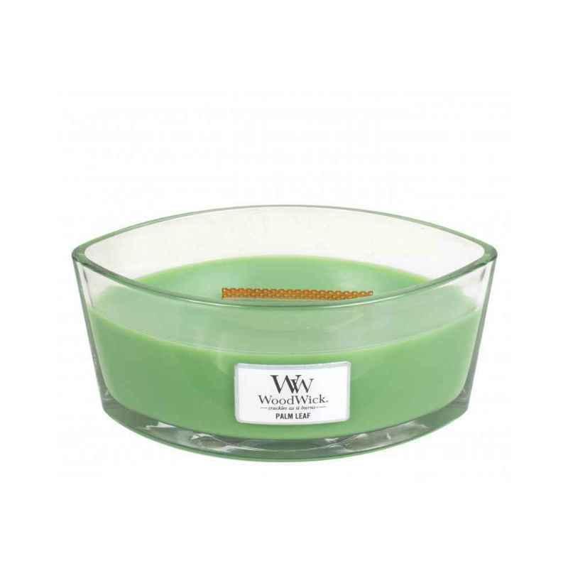 WoodWick Palm Leaf - świeca zapachowa Elipsa - candlelove