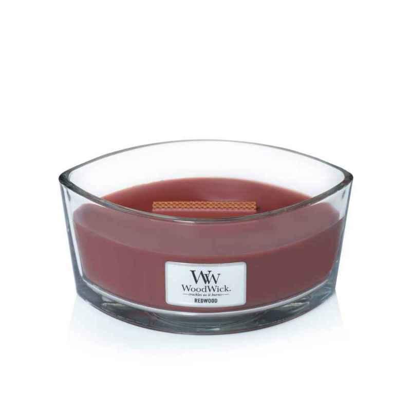 WoodWick Redwood - świeca zapachowa Elipsa - candlelove