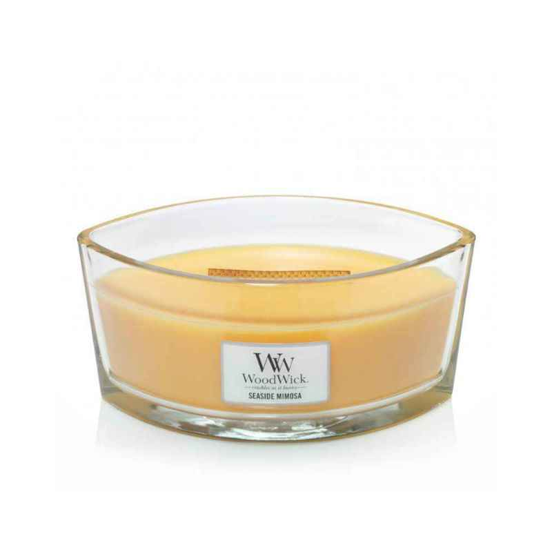 WoodWick Seaside Mimosa - świeca zapachowa Elipsa - candlelove
