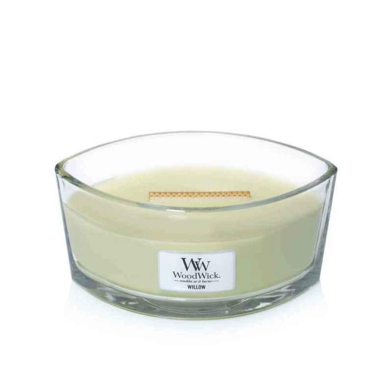 WoodWick Willow - świeca zapachowa Elipsa - candlelove
