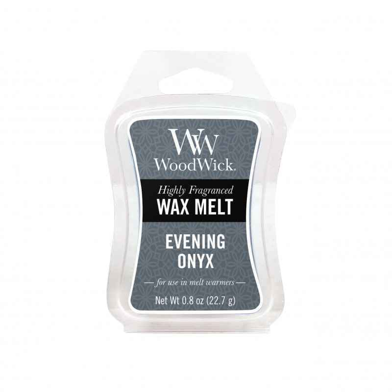 WoodWick Evening Onyx - wosk zapachowy - candlelove