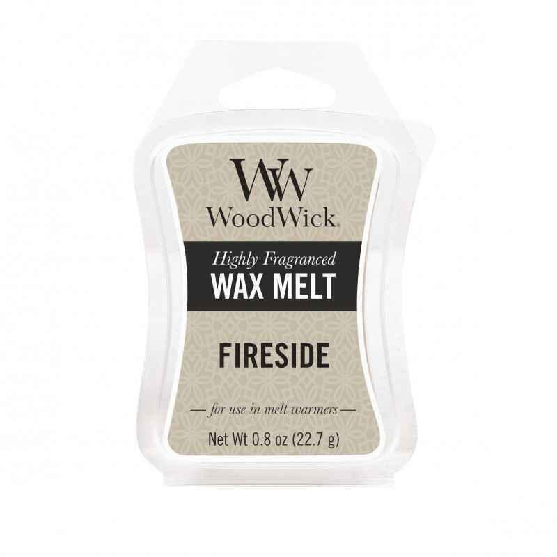 WoodWick Fireside - wosk zapachowy - candlelove