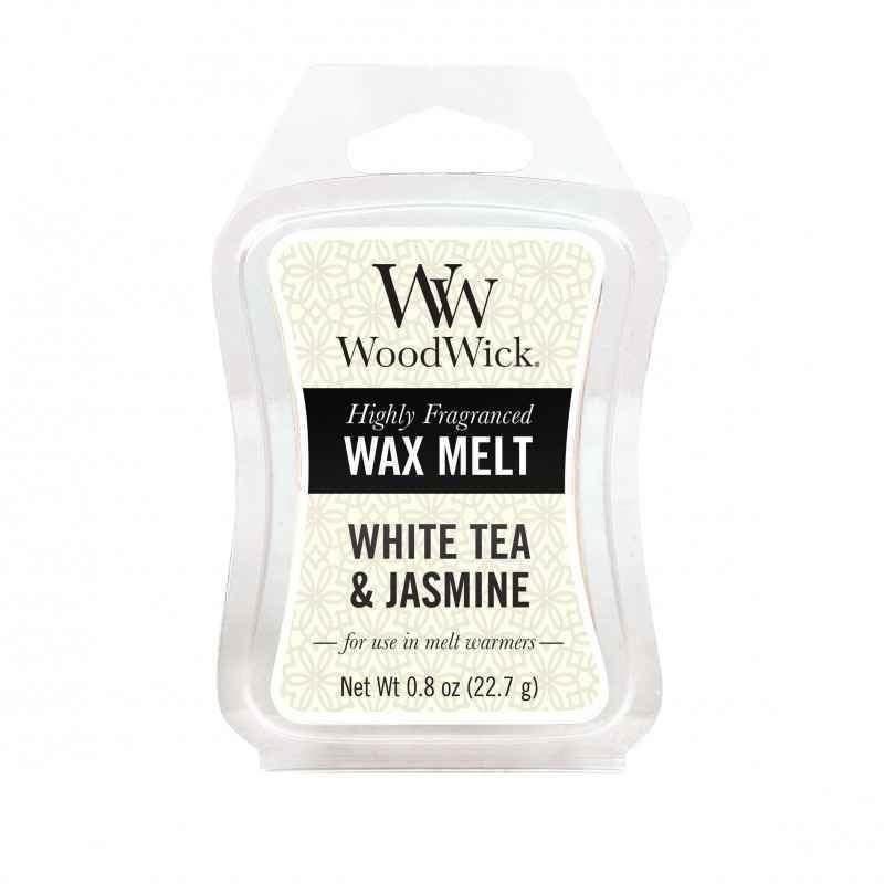 WoodWick White Tea & Jasmine - wosk zapachowy - candlelove