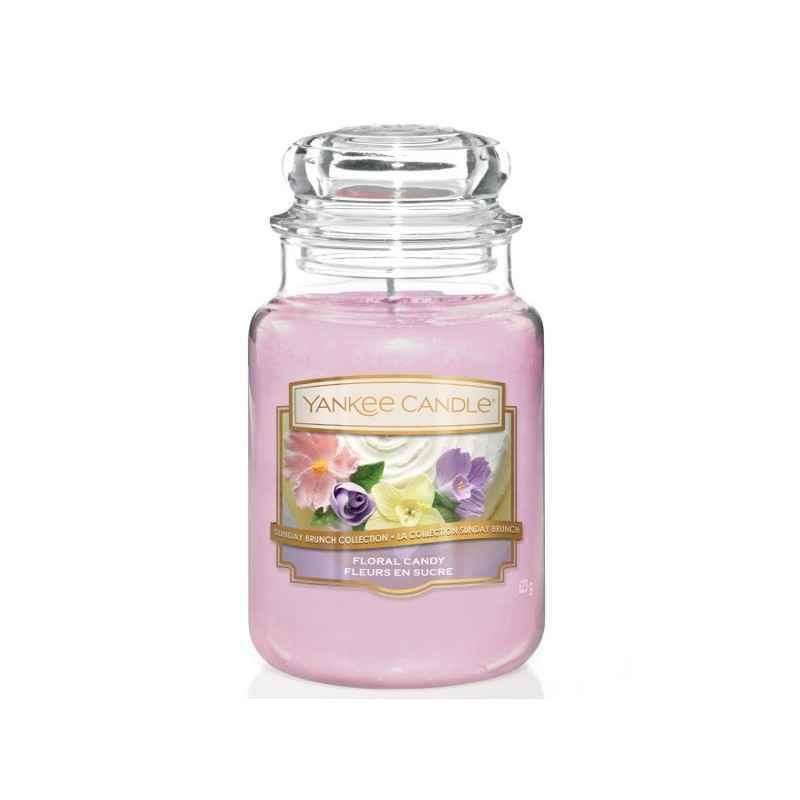 Yankee Candle Floral Candy - duża świeca zapachowa - e-candlelove