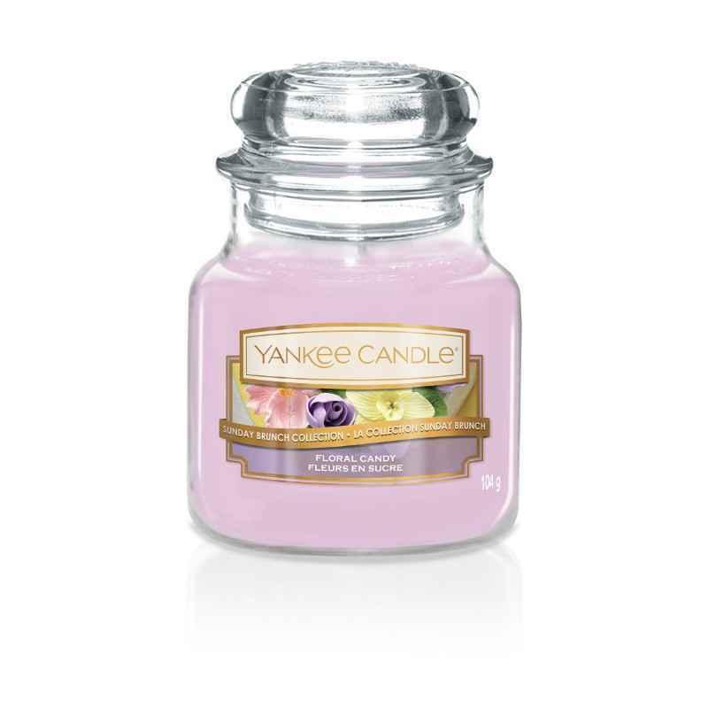 Yankee Candle Floral Candy - mała świeca zapachowa - e-candlelove