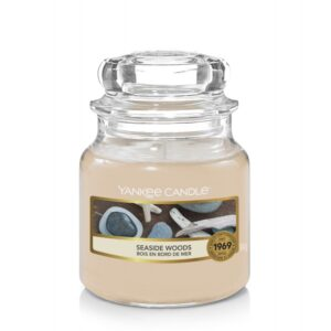 Yankee Candle Seaside Woods - mała świeca zapachowa - candlelove