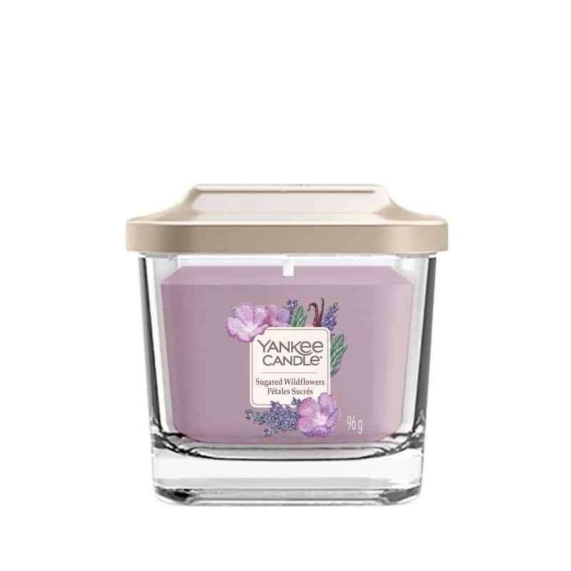 Yankee Candle Elevation Sugared Wildflowers - mała świeca zapachowa - e-candlelove