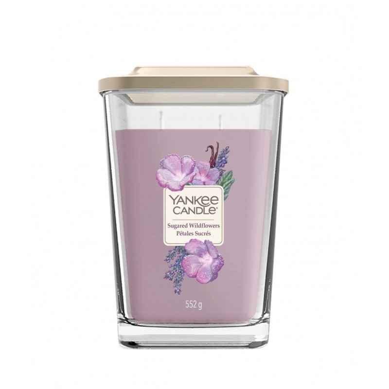 Yankee Candle Elevation Sugared Wildflowers - duża świeca zapachowa - e-candlelove
