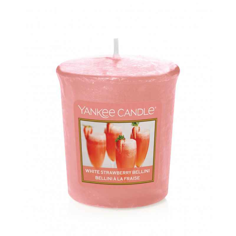 Yankee Candle White Strawberry Bellini - sampler zapachowy - e-candlelove