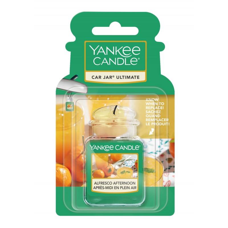 Yankee Candle Alfresco Afternoon Car Jar Ultimate - zapach samochodowy - candlelove