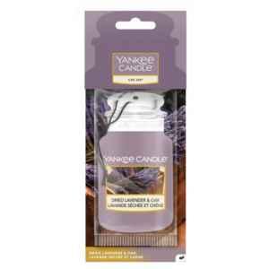 Yankee Candle Dried Lavender & Oak Car Jar - zapach samochodowy - e-candlelove