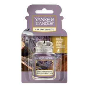 Yankee Candle Dried Lavender & Oak Car Jar Ultimate - zapach samochodowy - e-candlelove