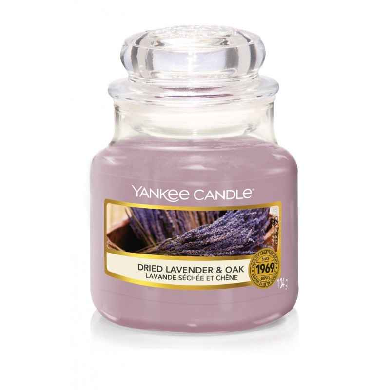 Yankee Candle Dried Lavender & Oak - mała świeca zapachowa - e-candlelove