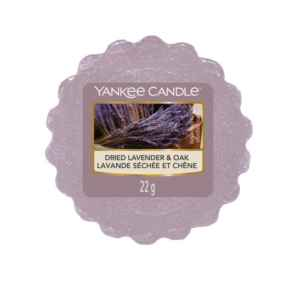 Yankee Candle Dried Lavender & Oak - wosk zapachowy - e-candlelove
