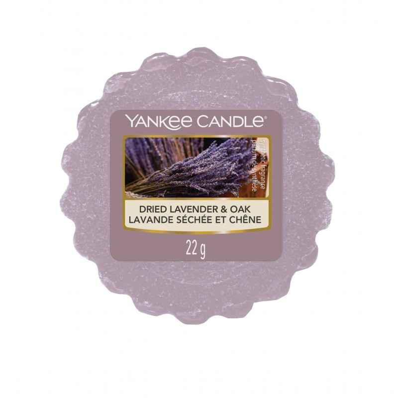 Yankee Candle Dried Lavender & Oak - wosk zapachowy - e-candlelove