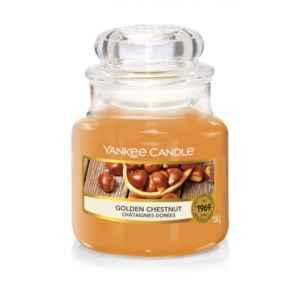 Yankee Candle Golden Chestnut - mała świeca zapachowa - e-candlelove