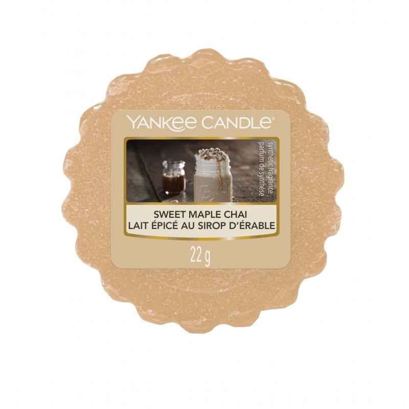 Yankee Candle Sweet Maple Chai - wosk zapachowy - e-candlelove