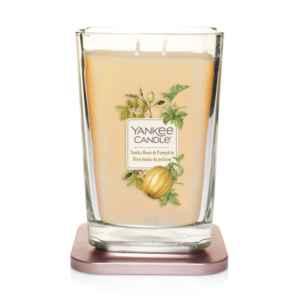 Yankee Candle Elevation Tonka Bean & Pumpkin - duża świeca zapachowa - e-candlelove