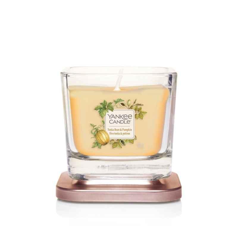 Yankee Candle Elevation Tonka Bean & Pumpkin - mała świeca zapachowa - e-candlelove