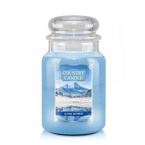 Country Candle Alpine Retrear - duża świeca zapachowa - candlelove