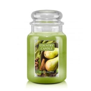 Country Candle Anjou & Allspice - duża świeca zapachowa - candlelove