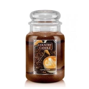 Country Candle Coffee Shop - duża świeca zapachowa - candlelove