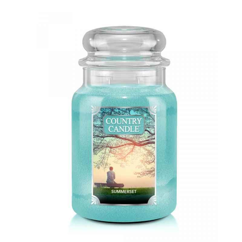 Country Candle Summerset - duża świeca zapachowa - e-candlelove