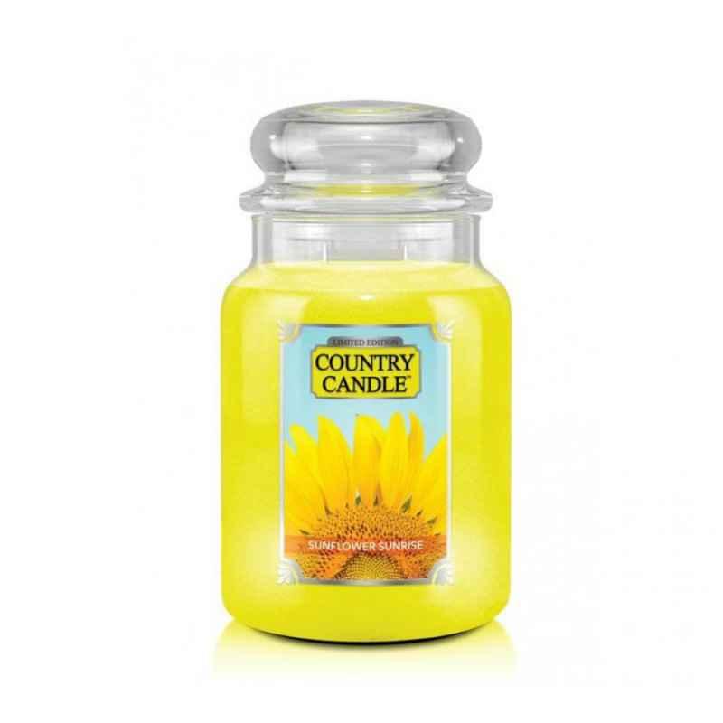 Country Candle Sunflower Sunrise - duża świeca zapachowa - e-candlelove