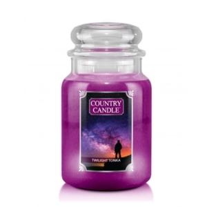 Country Candle Twilight Tonka - duża świeca zapachowa - candlelove