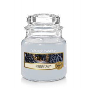 Yankee Candle Candlelit Cabin - mała świeca zapachowa - candlelove