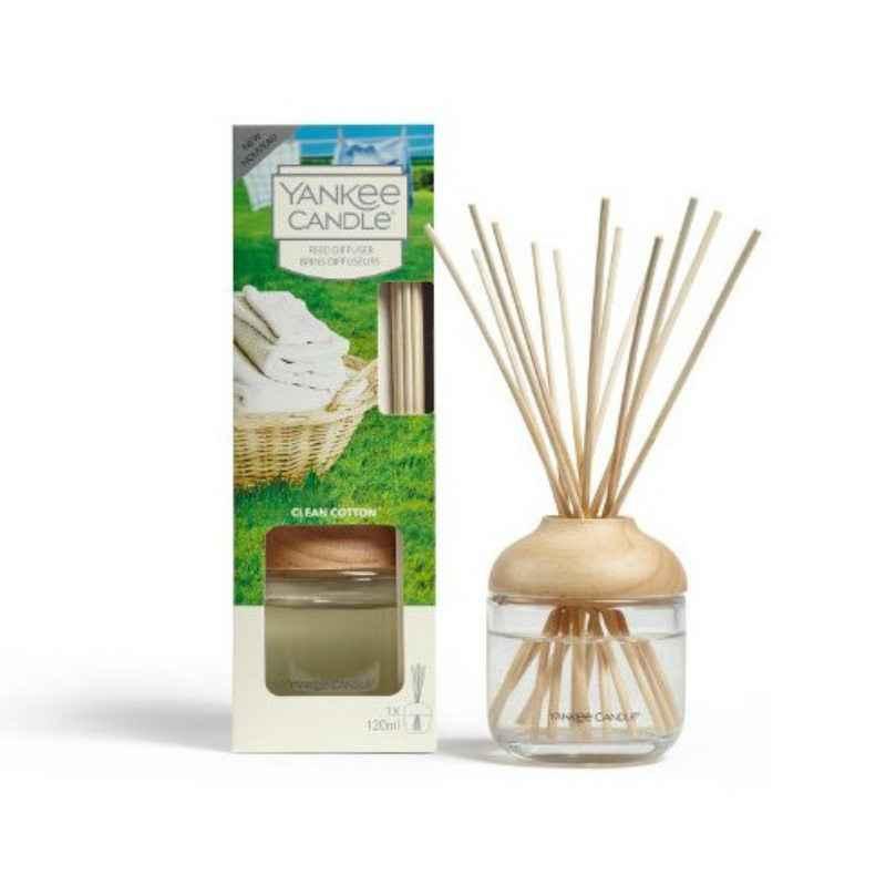 Yankee Candle Clean Cotton - pałeczki zapachowe - e-candlelove