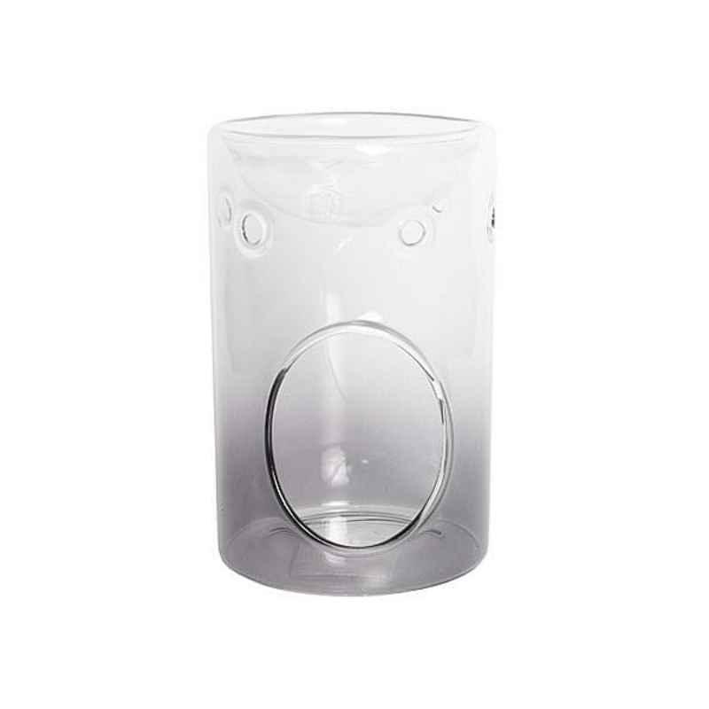 Yankee Candle Savoy Grey Glass - kominek zapachowy - candlelove