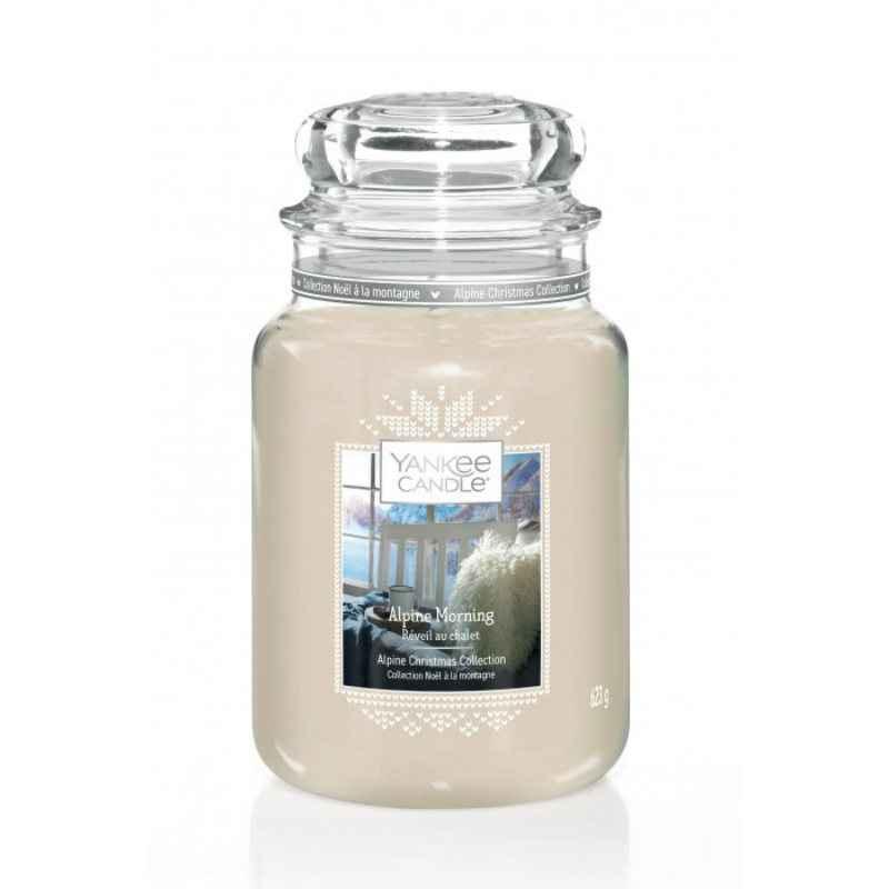 Yankee Candle Alpine Morning - duża świeca zapachowa - e-candlelove