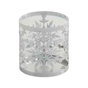 Yankee Candle Twinkling Snowflake - osłonka na świecę dużą - candlelove