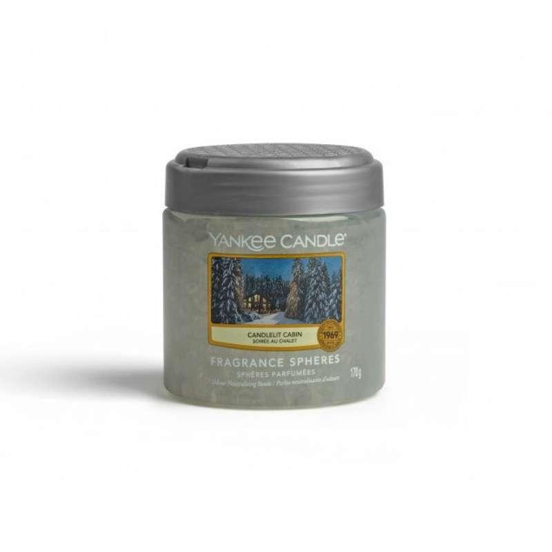 Yankee Candle Fragrance Spheres Candlelit Cabin - kuleczki zapachowe - candlelove