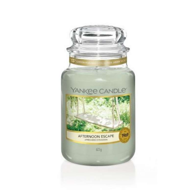 Yankee Candle Afternoon Escape - duża świeca zapachowa - candlelove