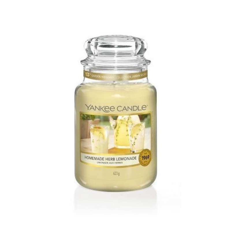 Yankee Candle Homemade Herb Lemonade - duża świeca zapachowa - candlelove