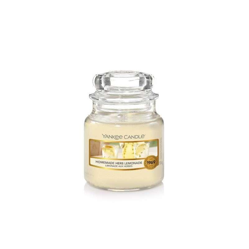 Yankee Candle Homemade Herb Lemonade - mała świeca zapachowa - candlelove