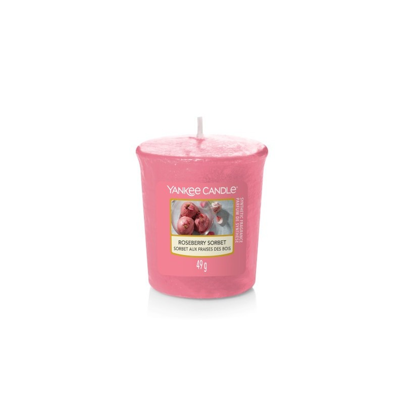 Yankee Candle Roseberry Sorbet - sampler zapachowy - candlelove
