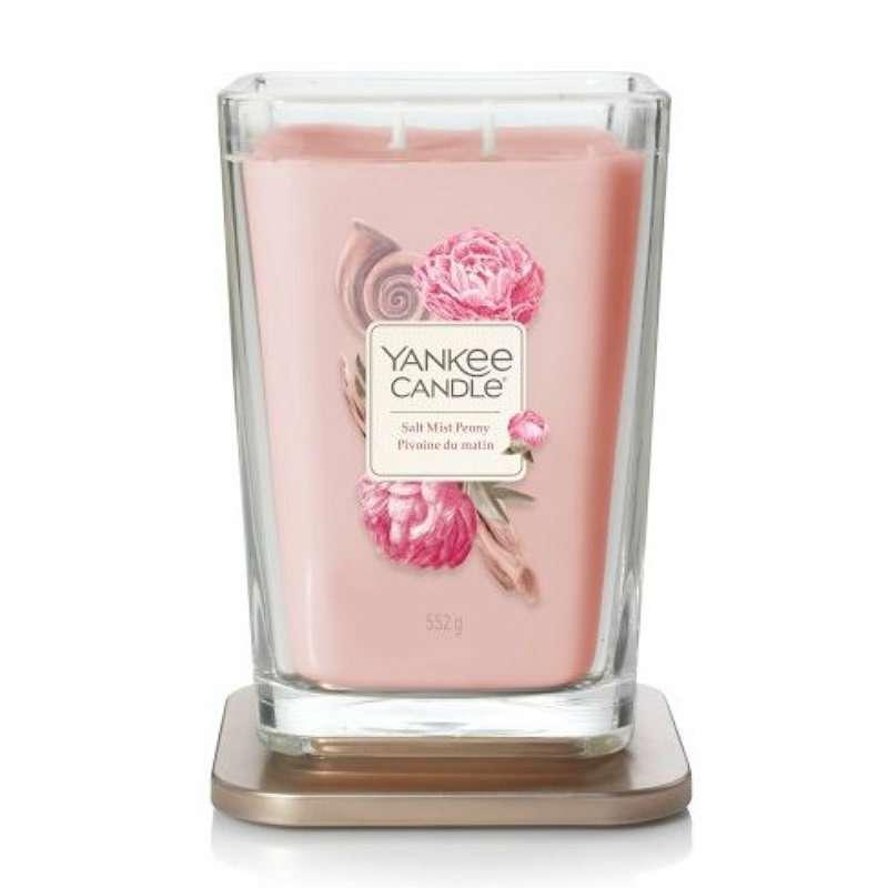 Yankee Candle Elevation Salt Mist Peony - duża świeca zapachowa - candlelove