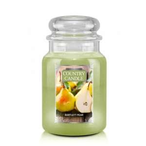 Country Candle Bartlett Pear - duża świeca zapachowa - candlelove