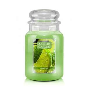 Country Candle Sparkling - duża świeca zapachowa - candlelove
