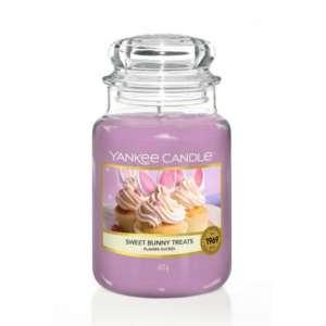 Yankee Candle Sweet Bunny Treats - duża świeca zapachowa - e-candlelove