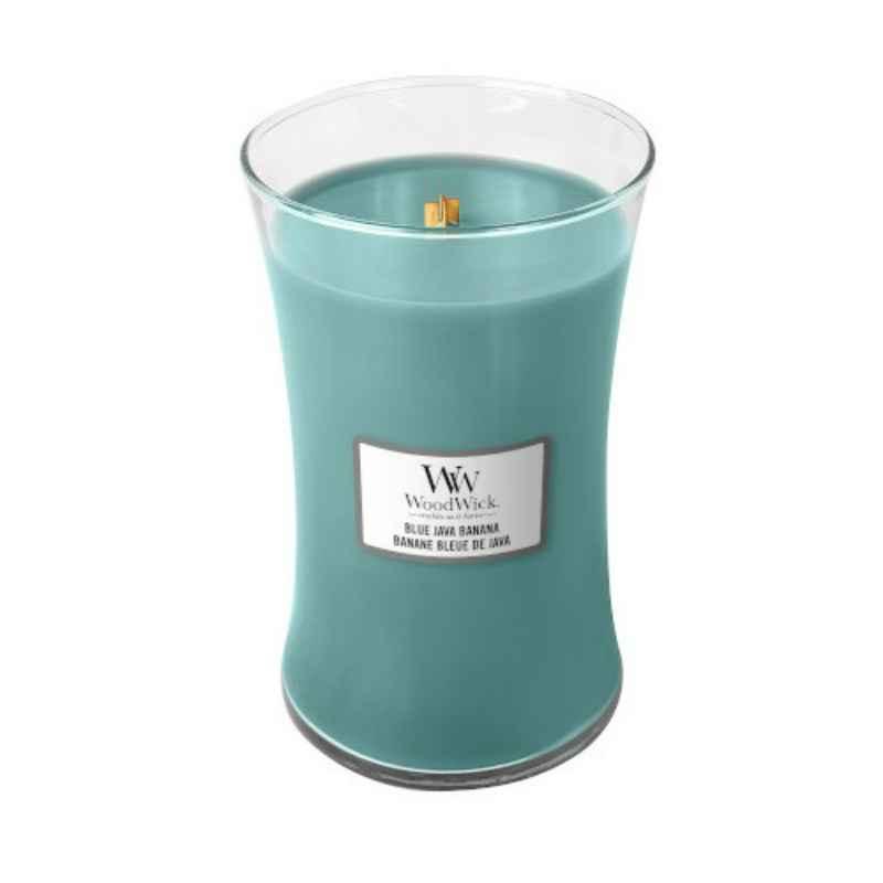 WoodWick Blue Java Banana - duża świeca zapachowa - candlelove