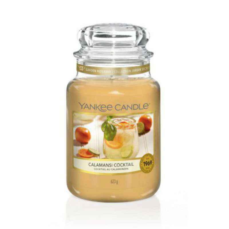 Yankee Candle Calamansi Cocktail - duża świeca zapachowa - candlelove