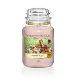 Yankee Candle Garden Picnic - duża świeca zapachowa - candlelove