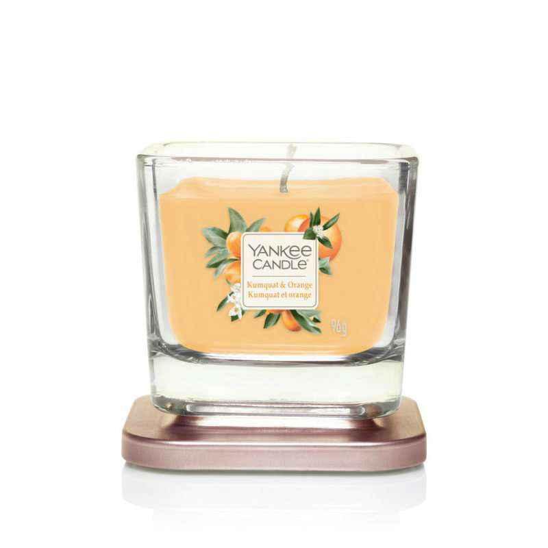 Yankee Candle Elevation Kumquat & Orange - mała świeca zapachowa - candlelove